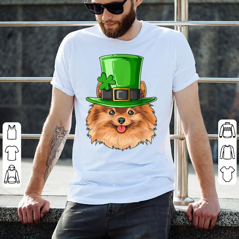 Top Pomeranian St Patricks Day Irish Leprechaun Pomeranian Shirt 2 1.jpg