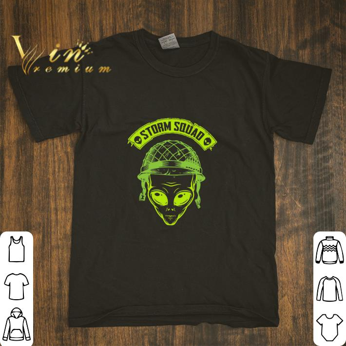 Awesome Alien Storm squad Area 51 shirt