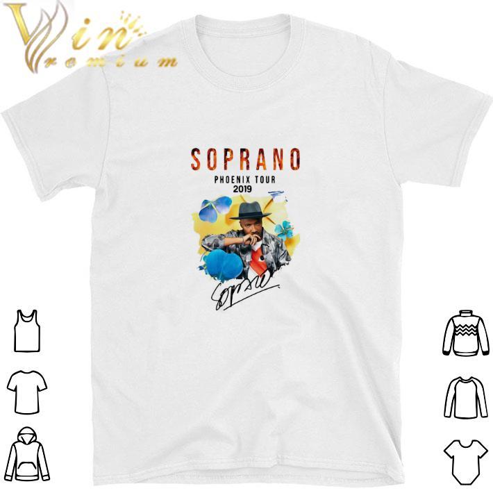 Awesome Soprano Phoenix Tour 2019 signature shirt