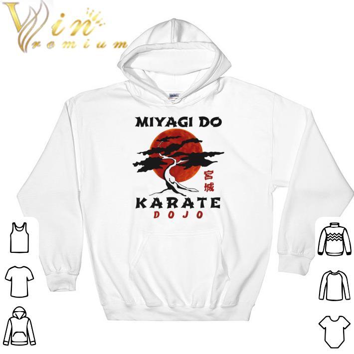Hot Miyagi do karate dojo sunset shirt