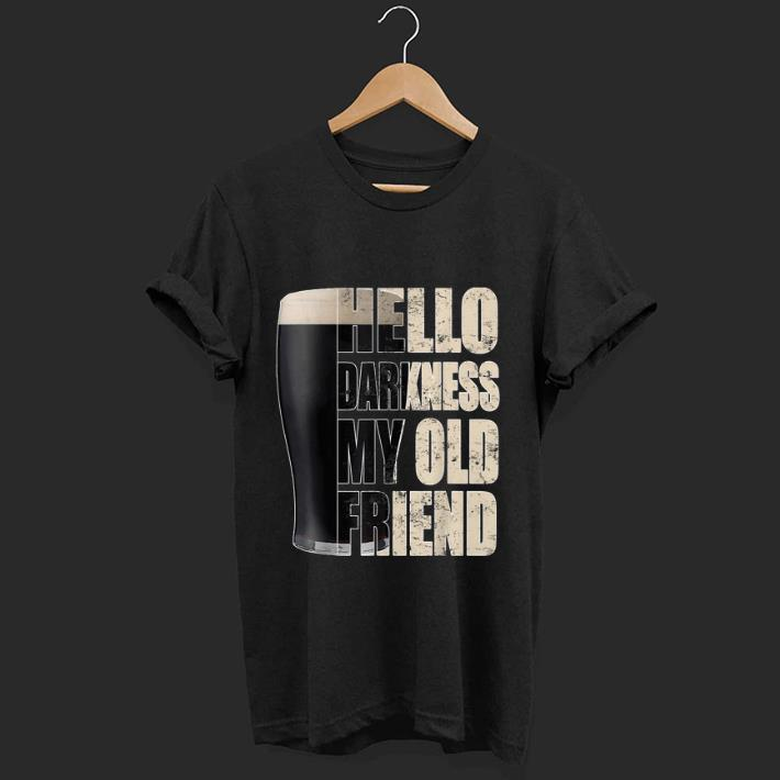 Official Hello Darkness My Old Friend Stout Beer shirt
