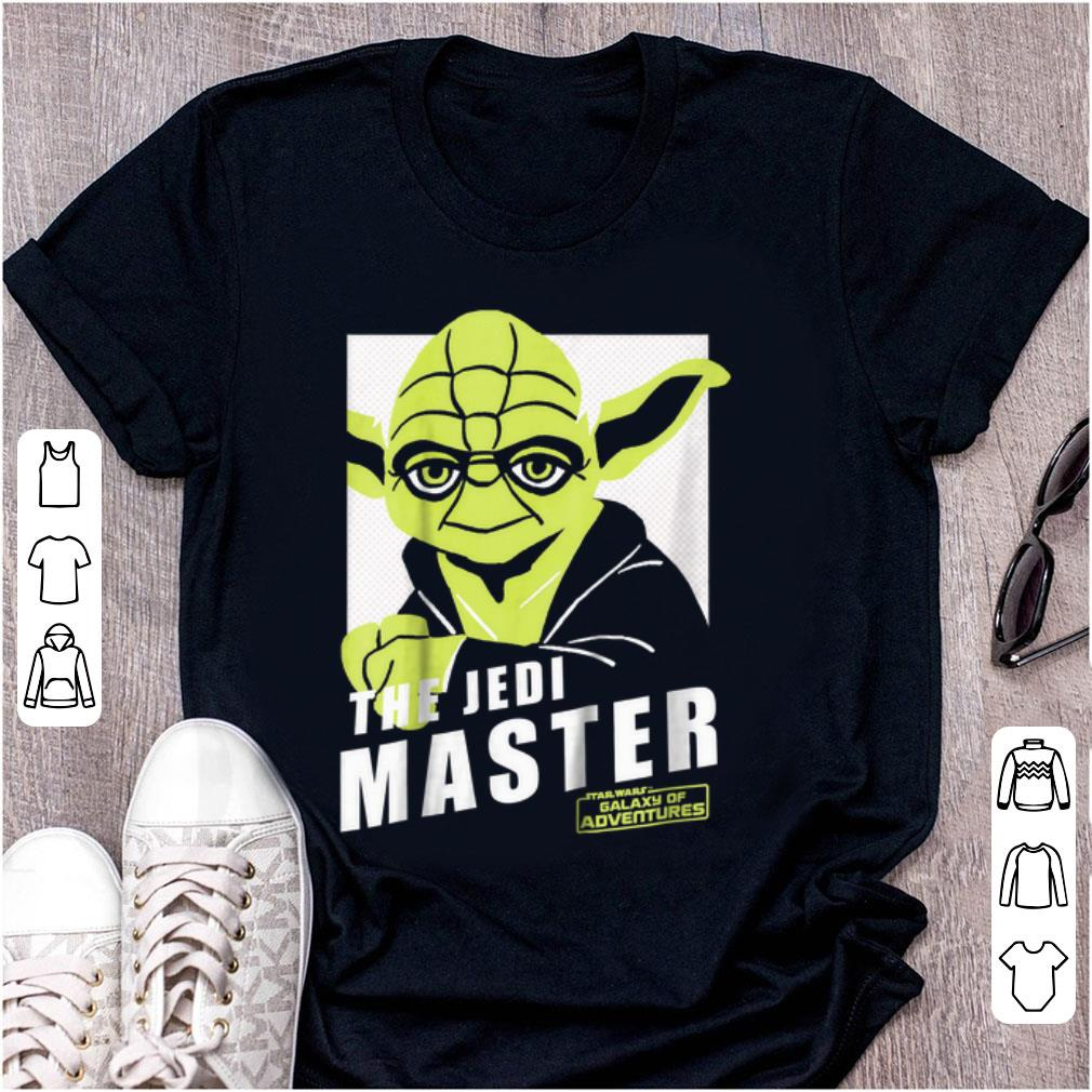 Official The Jedi Master Star War Galaxy Adventures shirt