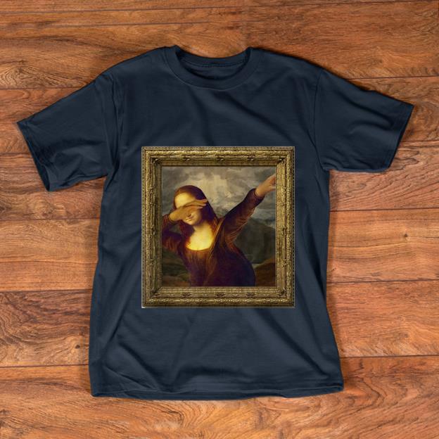 Premium Dabbing Mona Lisa Painting shirt