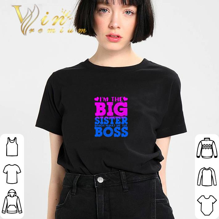 Premium I'm the big sister which makes me the boss shirt
