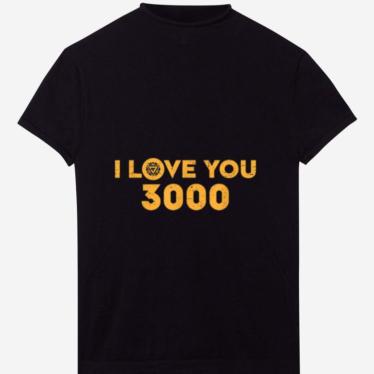 Pretty Marvel Avengers Endgame Iron Man I Love You 3000 shirt