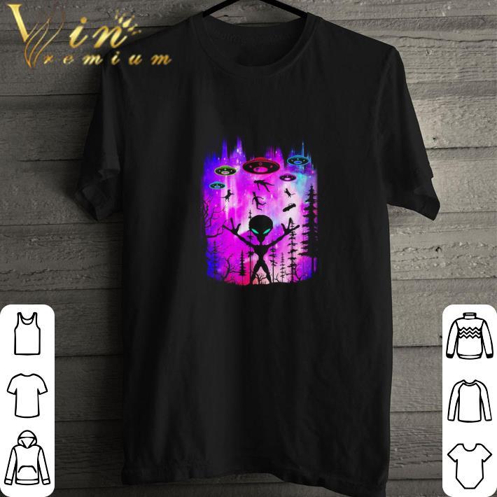 Top Alien UFOS Area 51 shirt