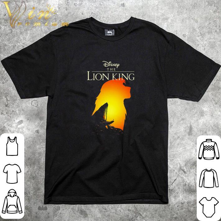 Top Disney The Lion King Simba sunset shirt