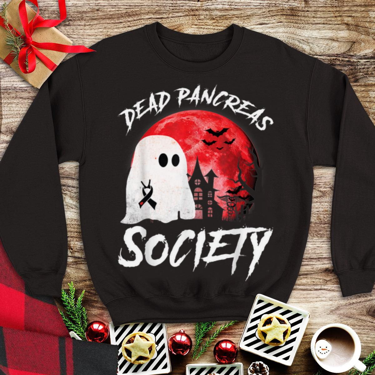 Awesome Dead Pancreas Society Diabetes Awareness Blood Moon Halloween Shirt 1 1.jpg