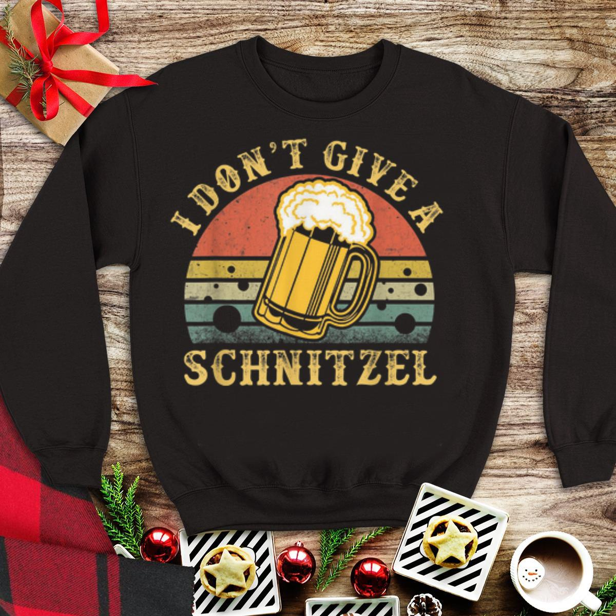 Awesome I Don't Give A Schnitzel Beer vintage shirt