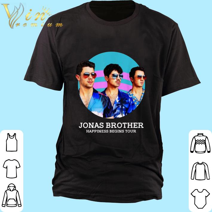 Awesome Jonas Brothers Happiness Begins Tour shirt