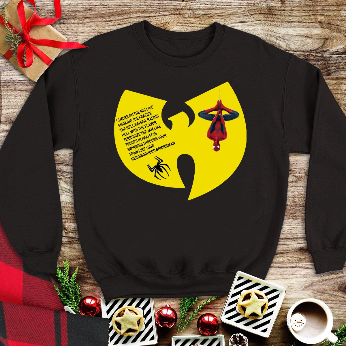 Awesome Spiderman Wu Tang Clan Neighborhood shirt