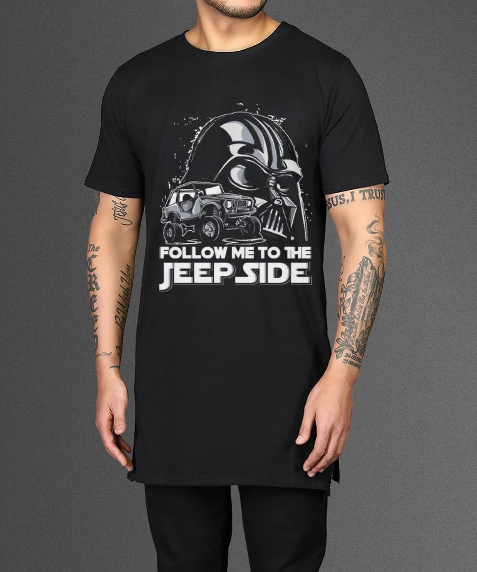 Nice Follow Me To The Jeep Side Darth Vader Shirts 2 1.jpg