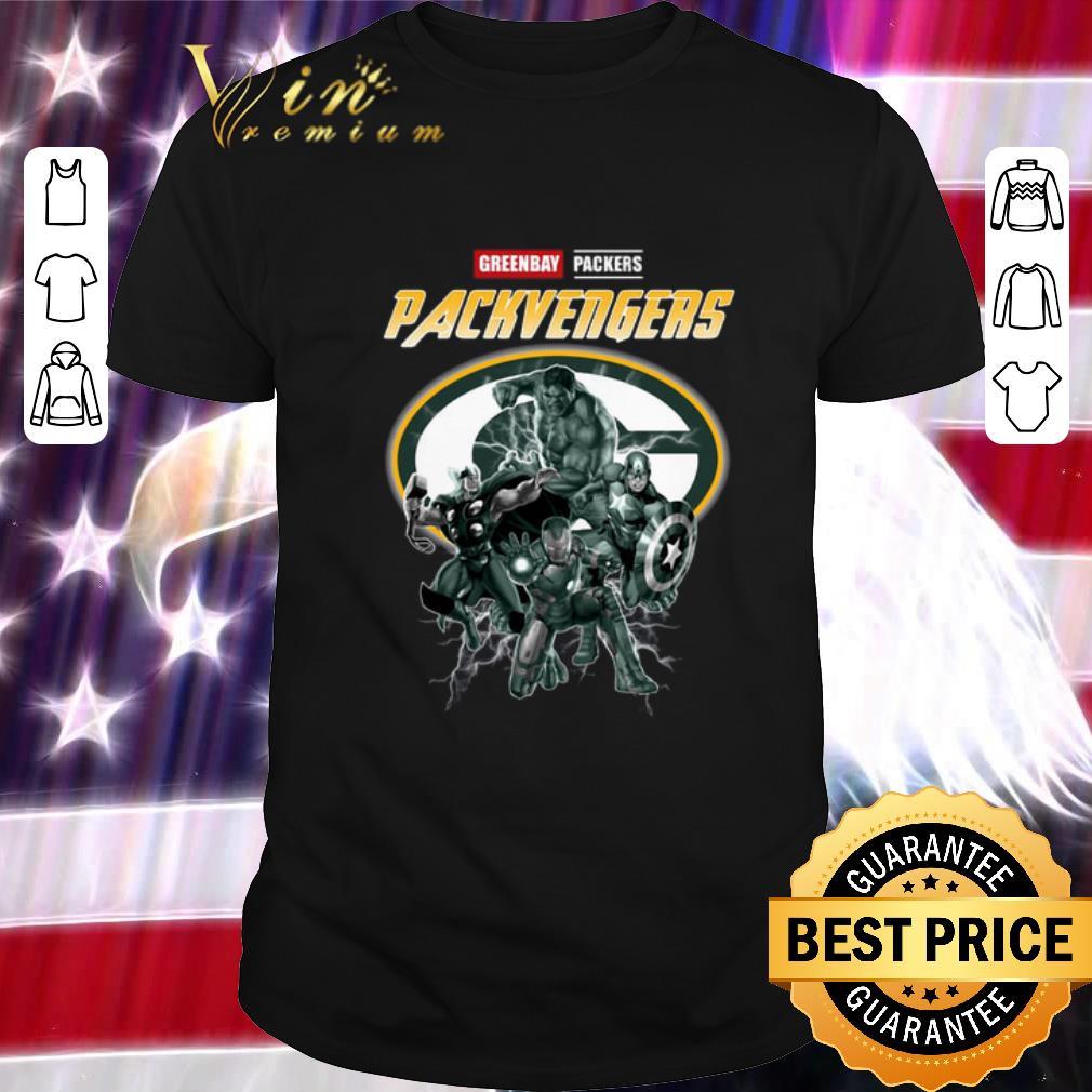Nice Greenbay Packers Packvengers Avengers Marvel shirt