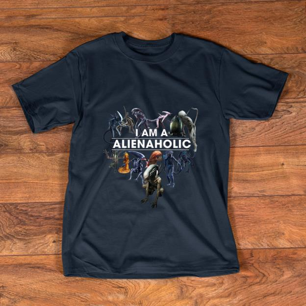 Nice I Am A Alien Aholic shirt