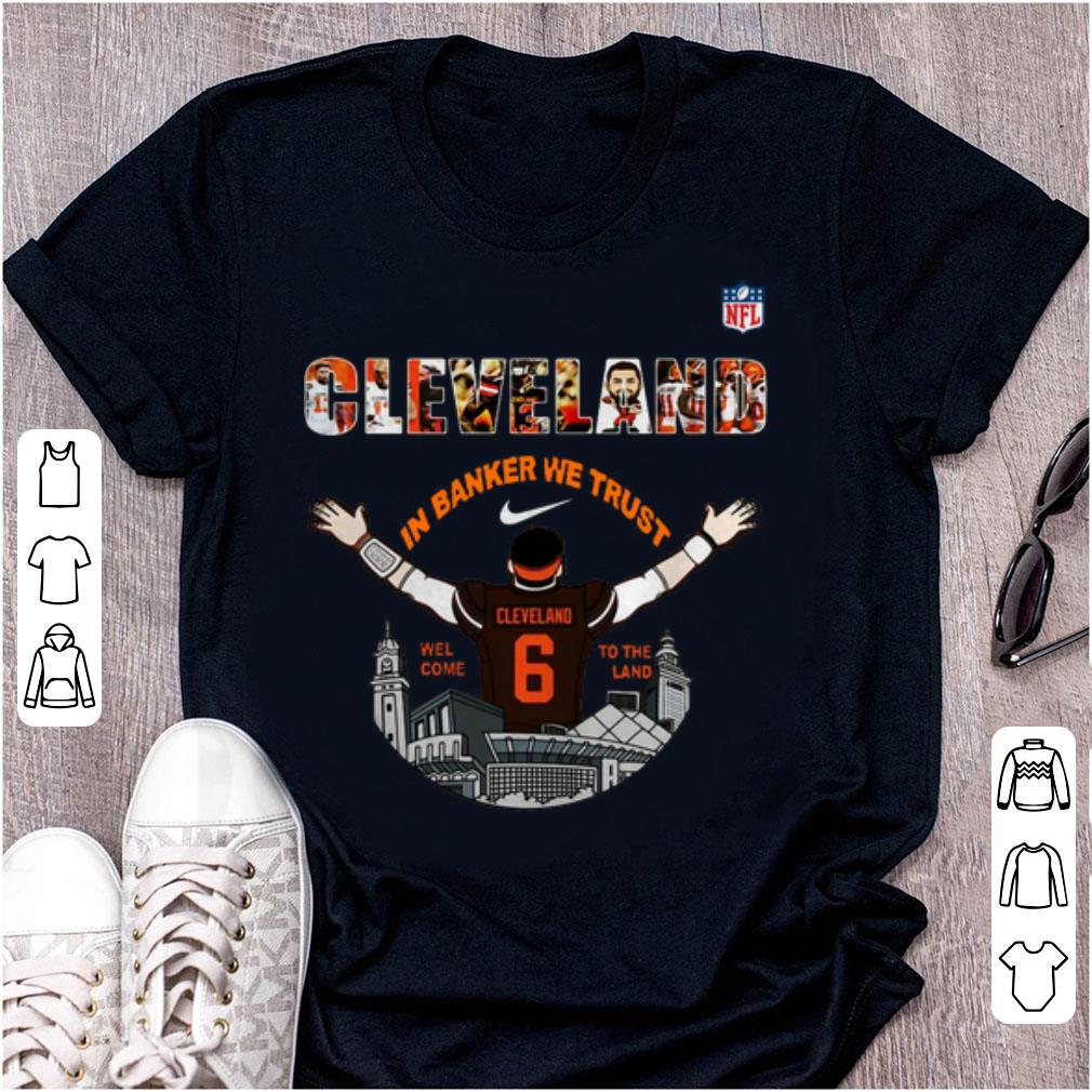 timeless design 65465 1601d Official Baker Mayfield Player Cleveland Browns NFL 2019 shirt
