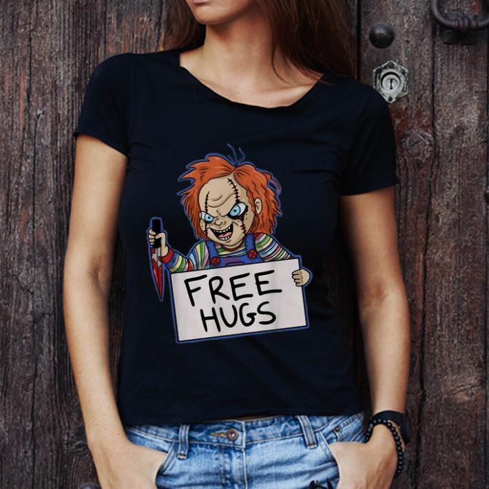 Official Chucky Free Hugs Hallowwen Horror shirt