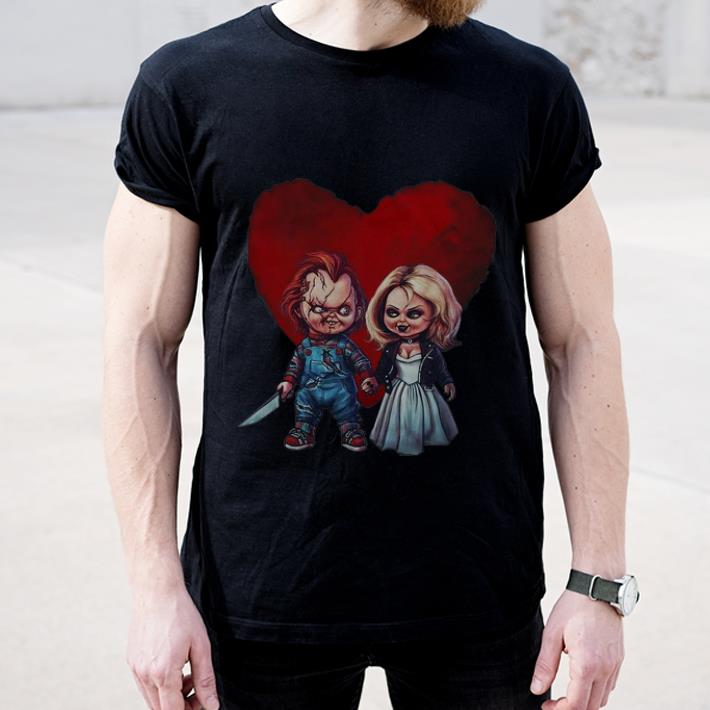 Official Chucky Love Tiffany Horror Lover shirt