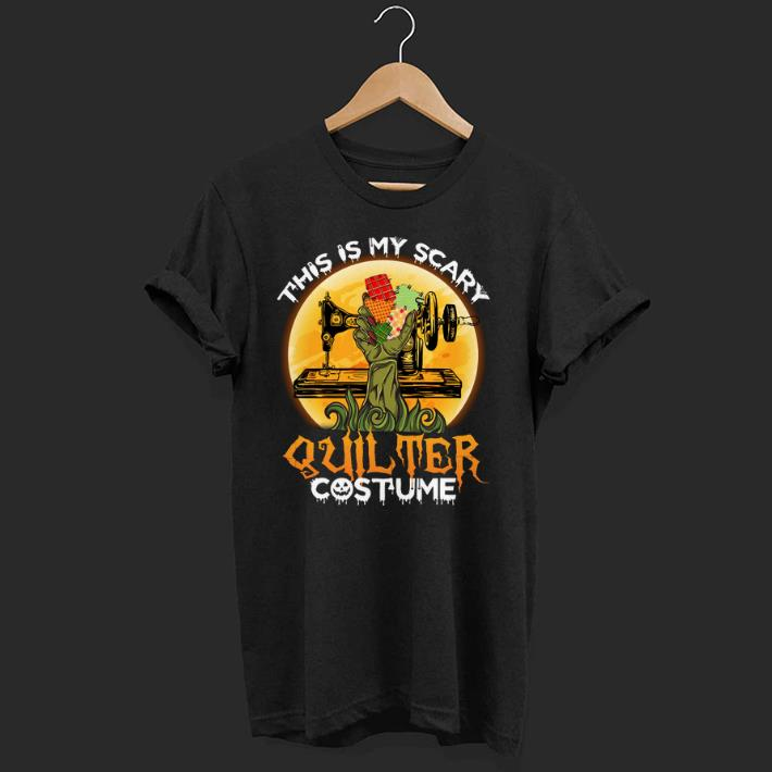 Official This Is My Scary Quilter Halloween Quilting shirt