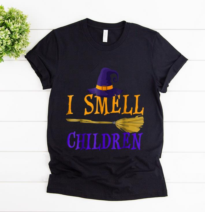 Original I Smell Children Witch Halloween Costume shirt