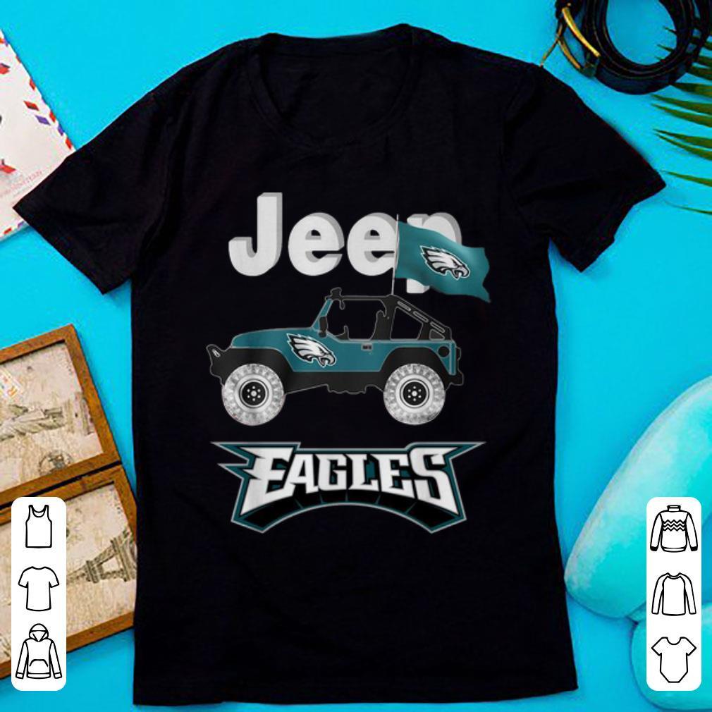 Original Jeep Flag Philadelphia Eagles NFL shirt