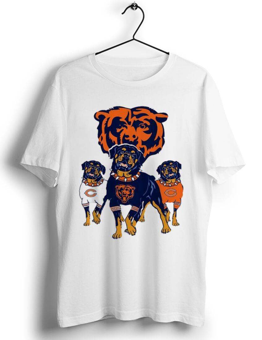 Premium Chicago Bears NFL Rottweiler Dog shirt