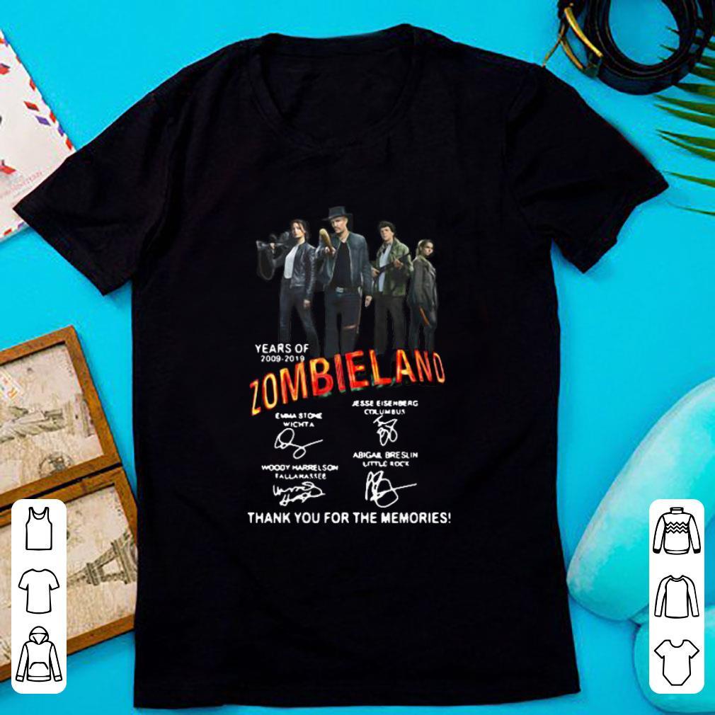 Pretty 20 Years Of 2009-2019 Zombieland Signature shirt
