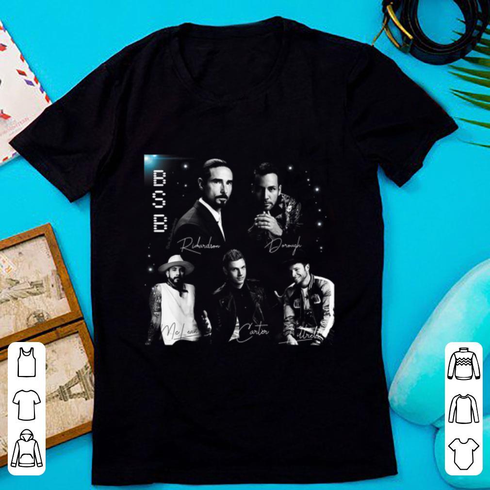 Pretty Backstreet Boys Bsb Signature shirt