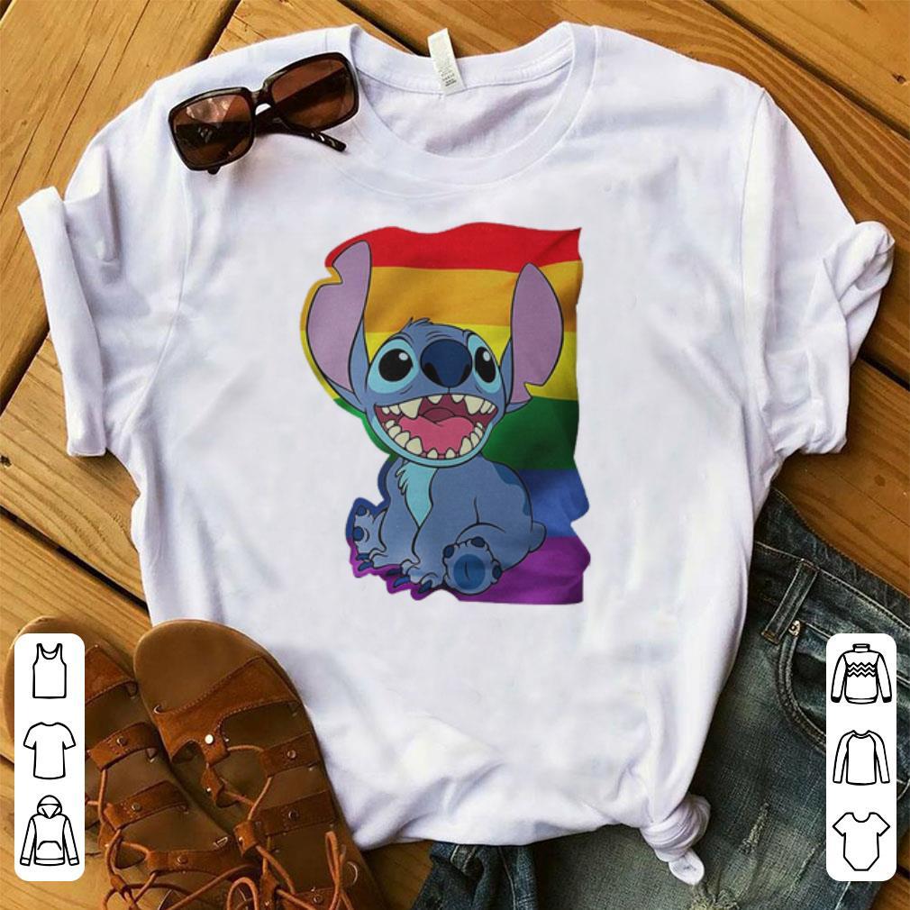 Pretty Stitch LGBT Pride shirt