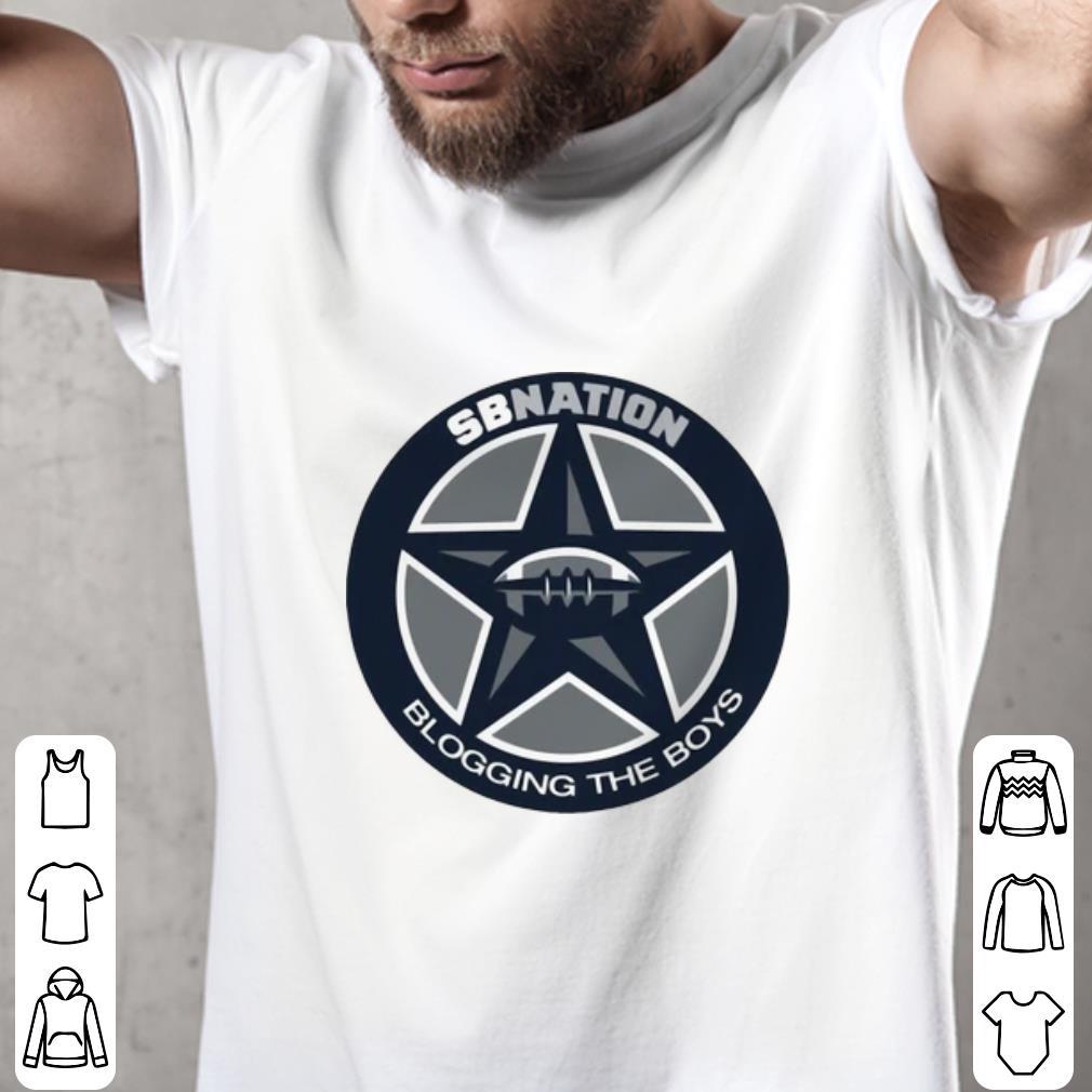 save off 9acb1 a04a0 Top Dallas Cowboys SB Nation Blogging The Boys shirt