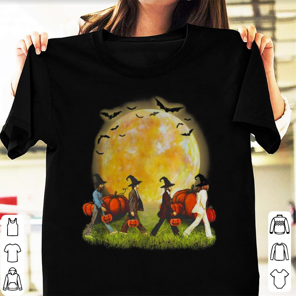 Awesome Abbey Road Walking On The Moon Pumpkin Halloween Shirt 1 1.jpg