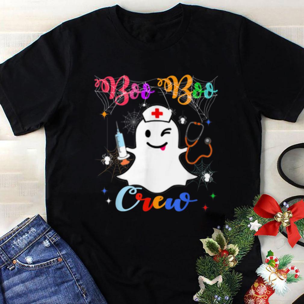 Awesome Boo Boo Crew Halloween Ghost Nurse Costume Shirt 1 1.jpg