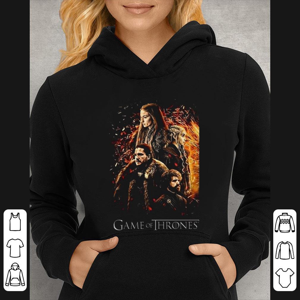 Awesome Game Of Thrones Kaos Daenerys Targarye Sansa Stark Jon Snown shirt