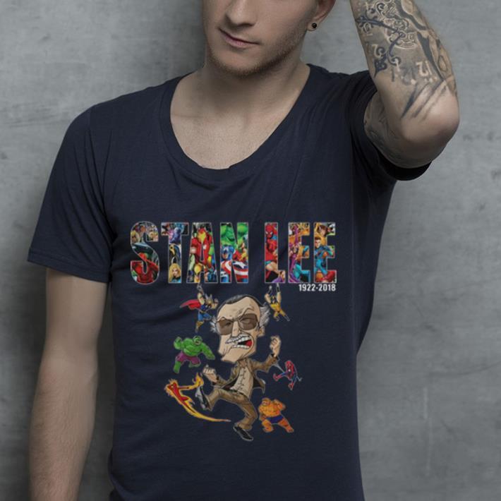 Nice Avengers Superhero comic Marvel Stan Lee 1922-2018 shirt
