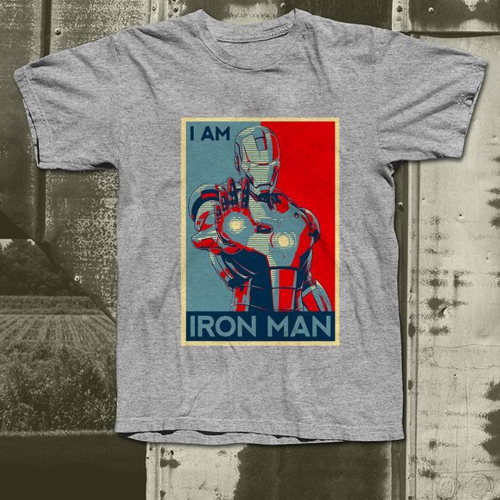 Nice I Am Iron Man Avenger Endgame Vintage shirt