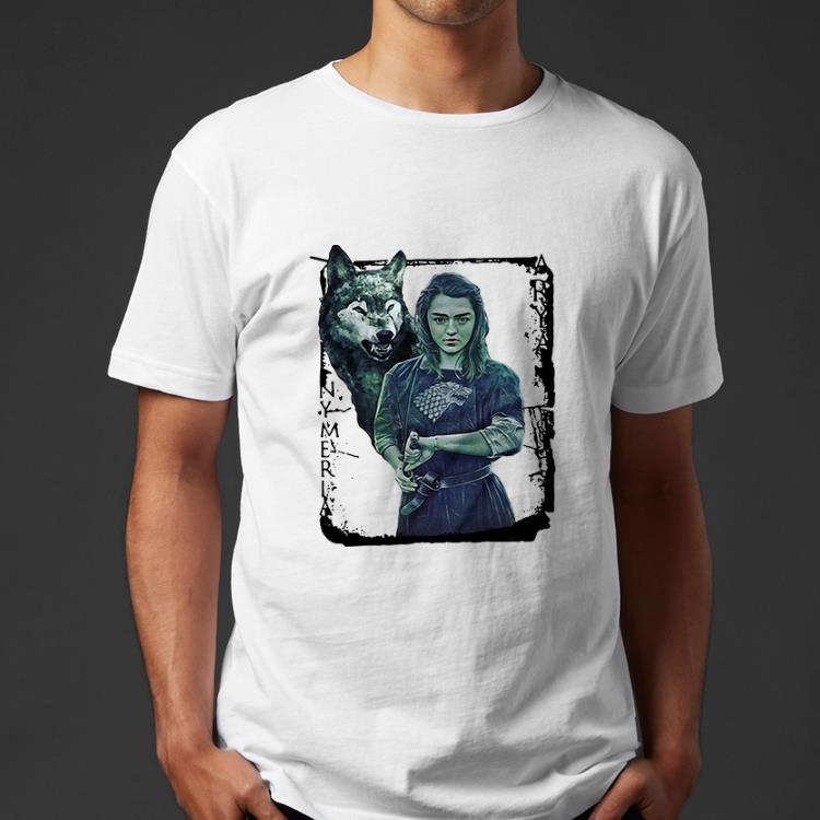 Original Game Of Thrones Nymeria Arya Stark shirt