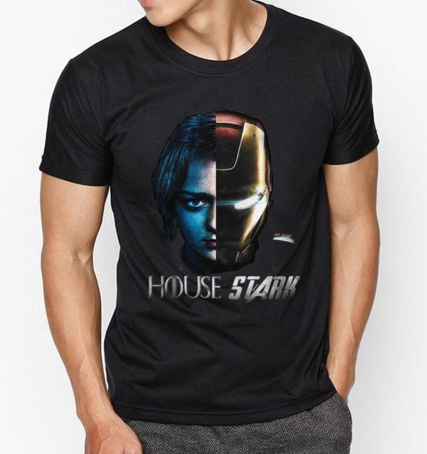 Premium Arya Stark Iron Man Game Of Thrones House Stark shirt