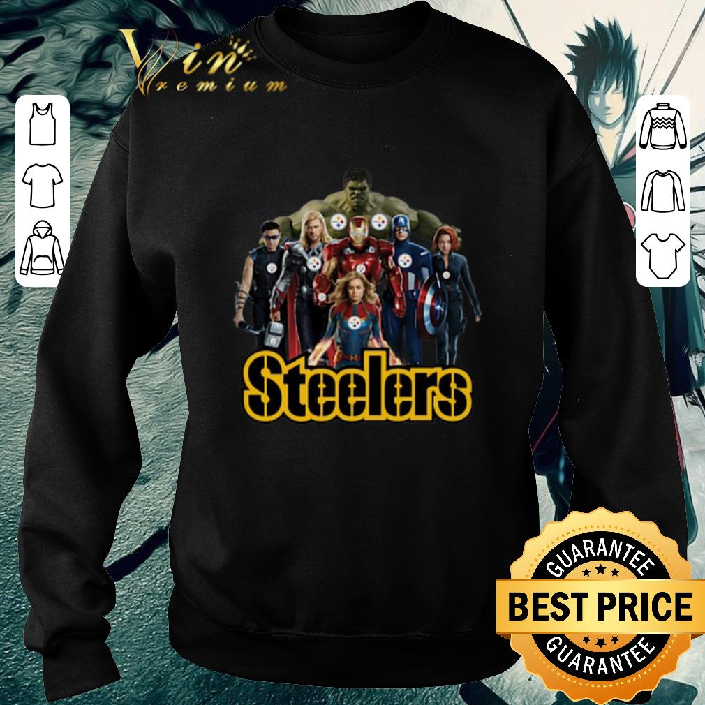 Premium Avengers Endgame Pittsburgh Steelers shirt