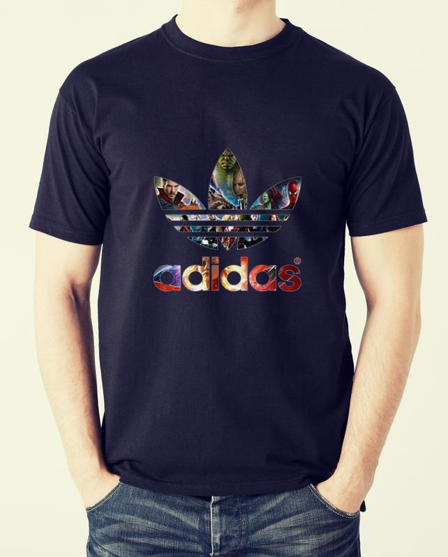 Pretty Adidas Avenger Marvel shirt