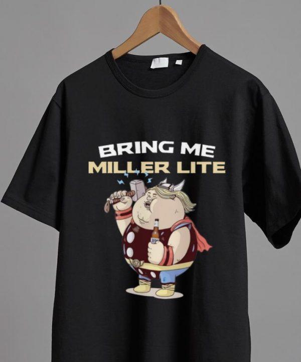 Pretty Avengers Endgame Bring Me Miller Lite Thor Fat Shirt 2 1.jpg