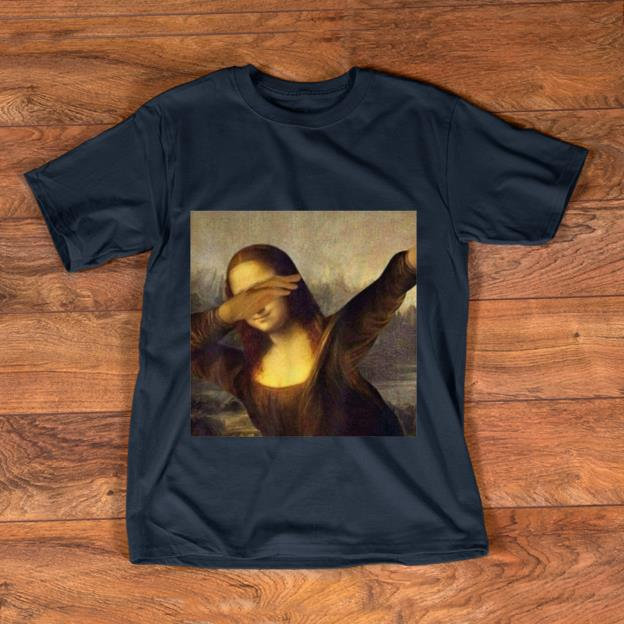 Pretty Dabbing Mona Lisa La Gioconda Chrissy Insta shirt
