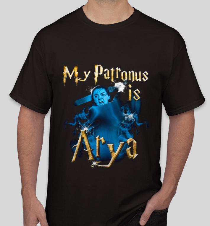 Pretty Game of Thrones My Patronis Is Arya Stark GOT shirt