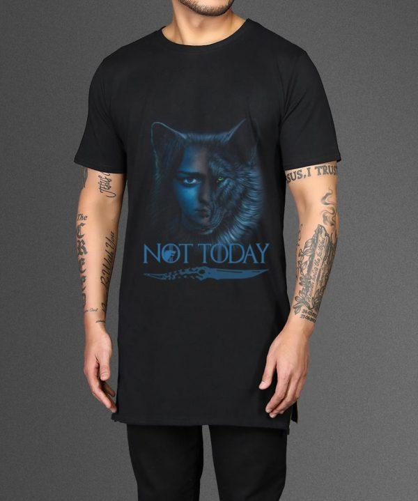 Top Wolf House Stark And Arya Stark Not Today Game Of Thrones Shirt 2 1.jpg