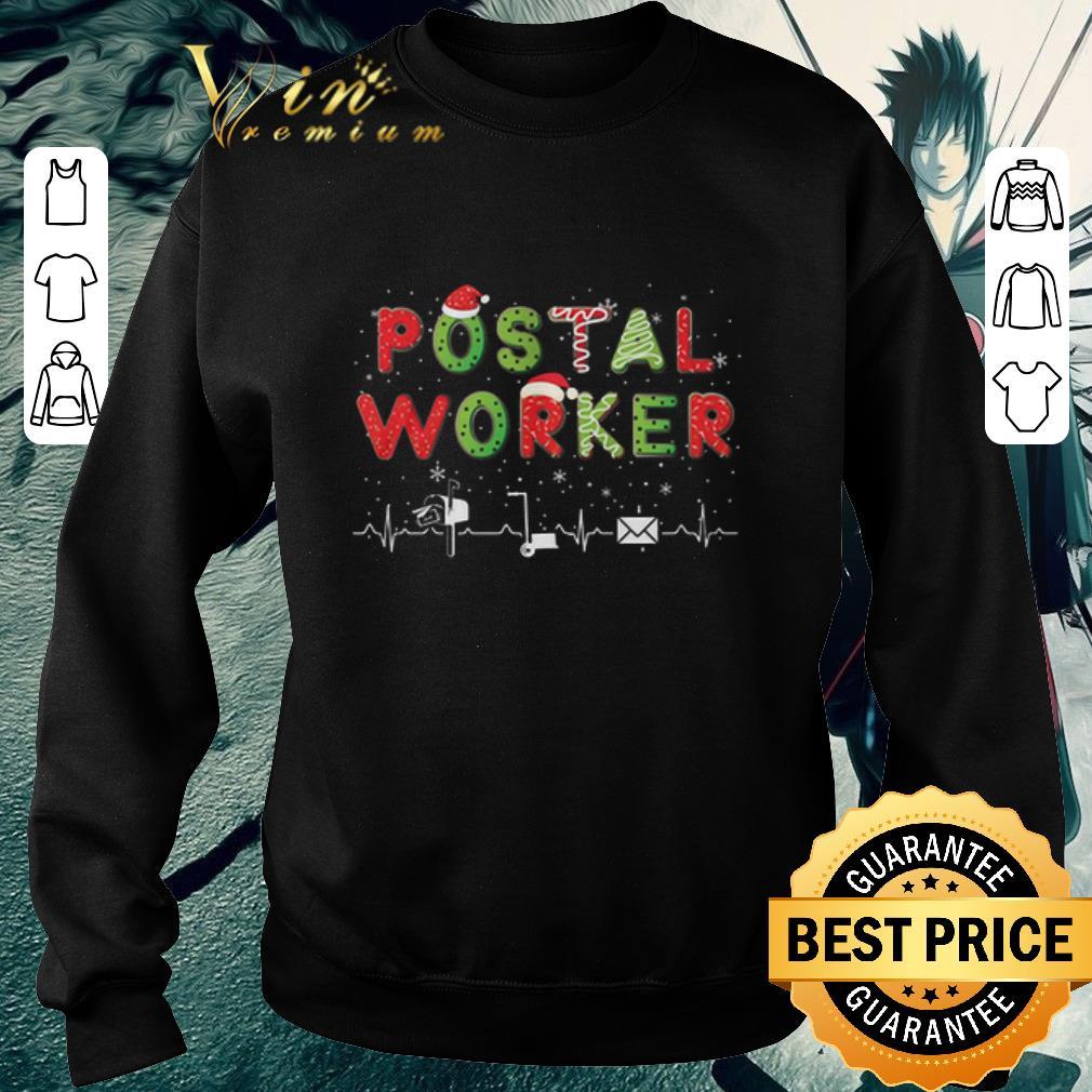 Awesome Postal Worker Christmas shirt