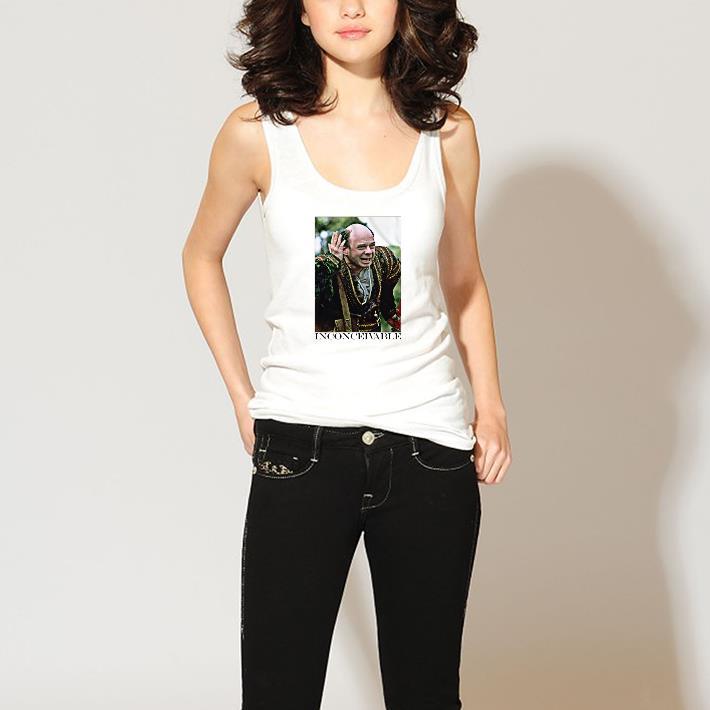 Inconceivable Princess Bride Vizzini   T-Shirt Top Trends Youth Sizes