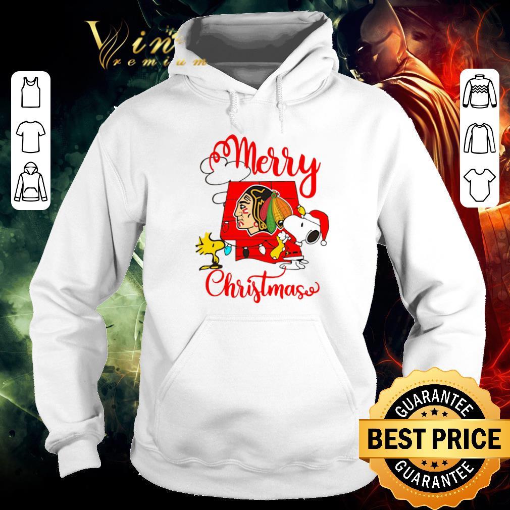 Funny Snoopy Merry Christmas Woodstock Washington Redskins shirt