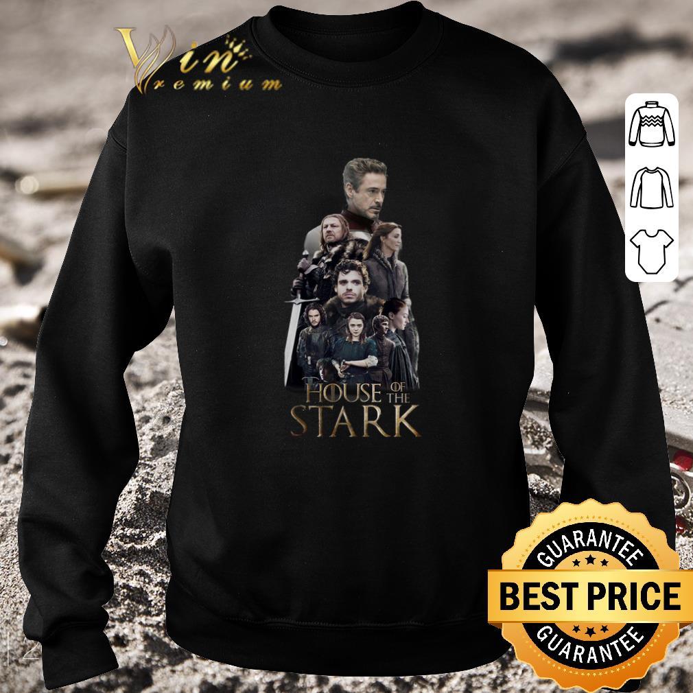 Hot House of the Stark family Stark Tony Stark Arya Stark shirt