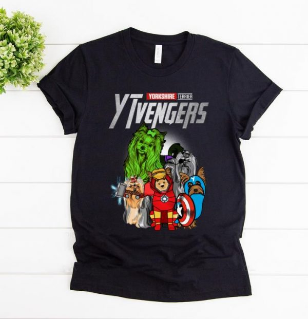 Hot Yorkshire Terrier YTvengers Marvel Avengers Endgame shirt