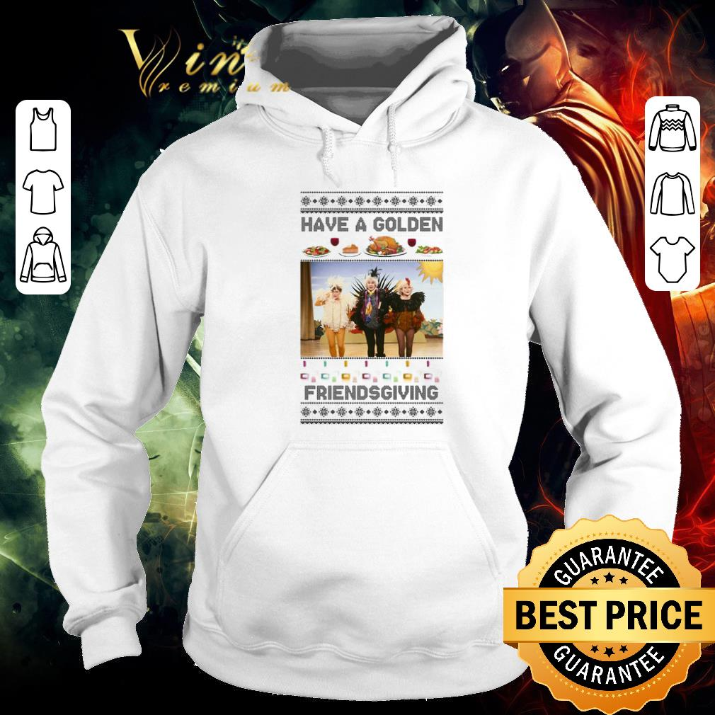 Premium Have A Golden Friendsgiving Christmas shirt