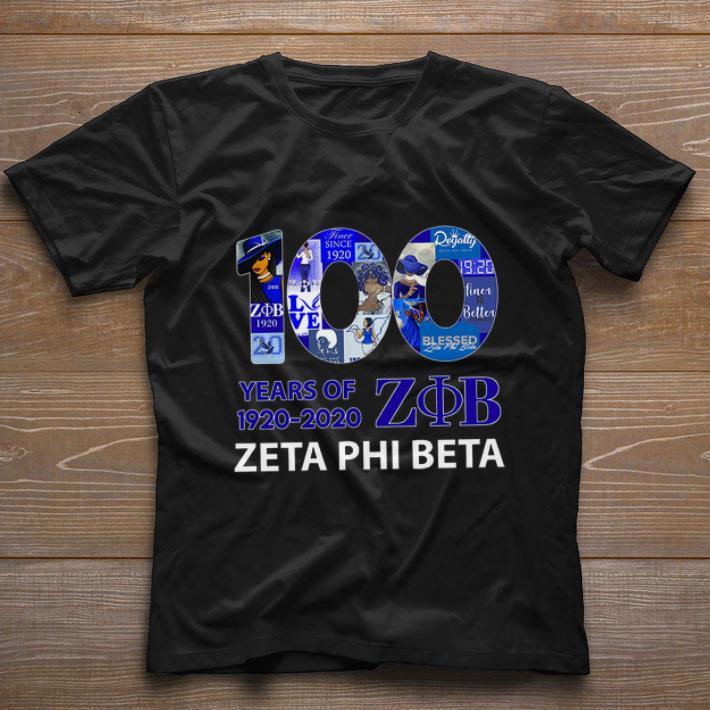 100 Years Of 1920 2020 Zeta Phi Beta Logo Shirt 1 1.jpg