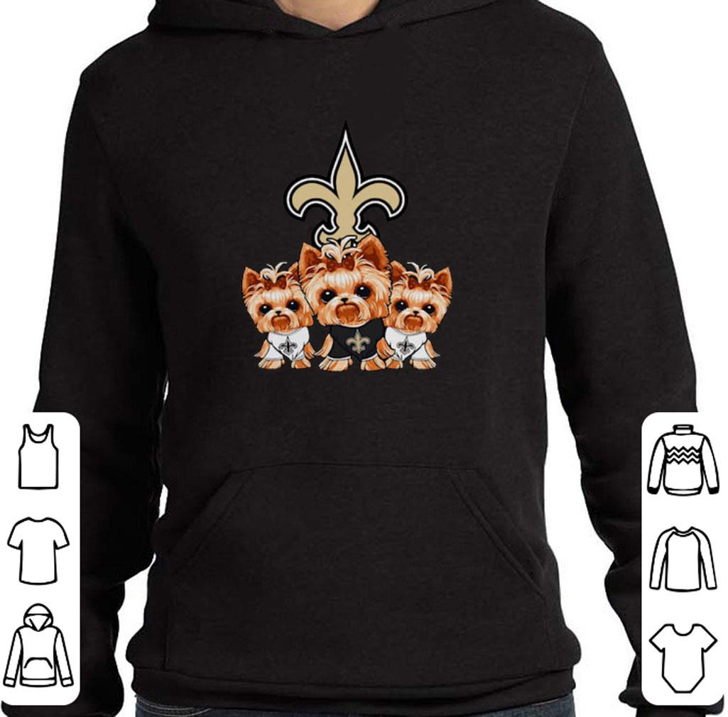 Official Yorkshire Terrier New Orleans Saints shirt